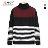 탑보이 - 가슴절개 단가라 폴라니트 (TR704) 스웨터