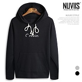 [뉴비스] NUVIIS - 캐빈 기모후드티셔츠 (CC076HD)