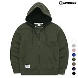 [앨빈클로]ALVINCLO  모자배색 후드집업 AZH-539K 후디