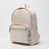 [로디스]LODIS - SOFT BACKPACK(BEIGE) 무지백팩