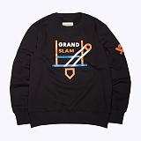 프랭크도미닉 - GRAND SLAM SWEAT(BLACK) 프린팅 맨투맨