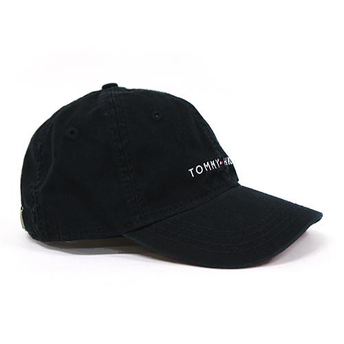 타미힐피거 로고 모자 878600_010 검정 (남여공용) Tommy Hilfiger 야구모자 볼캡 폴로캡 정품 국내배송