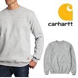 [칼하트]CARHARTT - K124 미드웨이트 스웨셔츠 맨투맨 그레이 크루넥 정품 국내배송