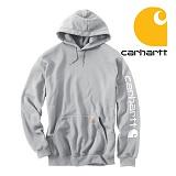[칼하트]CARHARTT - [당일출고]칼하트 시크니처 로고후드 그레이 US라인 정품