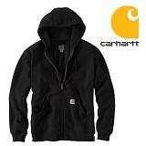 [칼하트]CARHARTT - [당일출고]칼하트 러틀랜드 써멀후드집업 블랙 US라인 정품