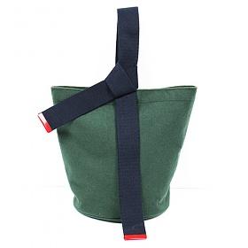 [프린트피치]PRINT PITCH - knot pot bag (green) 노트 팟백
