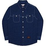 [언더에어]UNDER AIR Wabash Shirts - Dark Indigo - [Air Eleven] 셔츠 남방 재킷