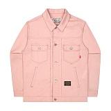 [언더에어] UNDERAIR 7s Cotton Trucker - Pink 코튼 트러커자켓 재킷