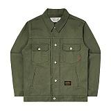 [언더에어] UNDERAIR7s Cotton Trucker - Khaki 코튼 트러커자켓 재킷