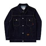 [언더에어] UNDERAIR 7s Cotton Trucker - Dark Indigo 코튼 트러커자켓 재킷