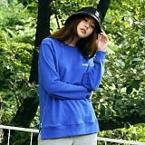 [매스노운]MASSNOUN  소셔데매스 맨투맨 티셔츠 MFSCR005-BL