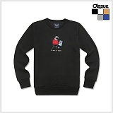 [오리수] ORISUE 기모 맨투맨 MTM Friendy 크루넥 스��셔츠