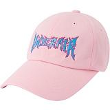 [언더에어]UNDER AIR Electric Death Cap - Pink 일렉트릭 데스 볼캡 야구모자