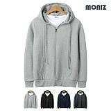 [모니즈]MONIZ 데일리 무지 후드집업 HZP017 후디