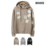 [모니즈]MONIZ 트럼프카드 후드집업 HZP002 후디