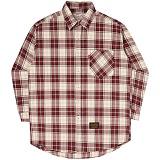 [언더에어]UNDER AIR Grace Of G - Red 체크 남방 셔츠