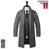 [해리슨]HARRISON - 버렌 체크 롱 코트 RM1162
