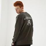[매스노운]MASSNOUN  소셔데매스 맨투맨 티셔츠 MFSCR005-DG