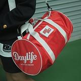 [데이라이프]DAYLIFE PLAY TRACK BAG (RED) 플레이 트랙백 가방 보스턴백 패치