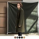 [어커버]ACOVER - HEAVY WOOL BLEND DOUBLE COAT 코트 더블코트 오버코트 오버핏 울코트