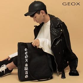 [제옥스]GEOX - SWAGBAG 스웨그 에코백 크로스백 DARKGRAY