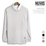 뉴비스 - 핫팩 트임 니트 (NB129KN) 스웨터