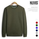 [뉴비스] NUVIIS - 베이직 기모 맨투맨 (CS032MT) 스웨트셔츠 크루넥