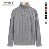 [탑보이] 꽈배기 폴라니트 (DO103) 스웨터
