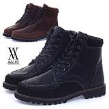 [에이벨류]378-kaentue 남성 유팁 목토 워커-3cm (블랙.브라운) 남자 캔트 부츠 하이탑 웰트화