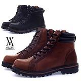 [에이벨류]386-shaomi 남성 럭스 더비 워커-3cm(블랙.브라운) 남자 샤오미 부츠 신발 캐주얼 웰트화 하이탑