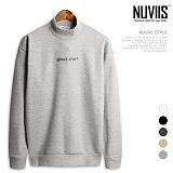 [뉴비스] NUVIIS - 굿 스타 기모 반목 맨투맨 (TR125MT) 스웨트셔츠 크루넥