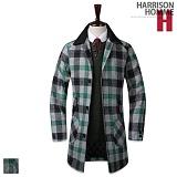 [해리슨]HARRISON - 누빔 수박체크 DB1117 코트