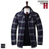 [해리슨]HARRISON - 누빔 DKS체크 DB1116 코트