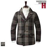 [해리슨]HARRISON - 누빔 더블 쥐돌이 DB1111 코트