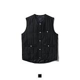 [어커버]ACOVER - 2oz Quilting Vest Black 퀄팅 베스트 조끼