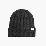 [도프]DOPE Simple Woven Label Beanie (BLACK) 비니
