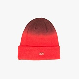 [도프]DOPE Ombre Micro Metal Logo Beanie (Red) 비니