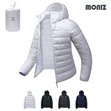 [모니즈]MONIZ 소프트 후드 초경량 패딩점퍼 LPD023