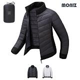 [모니즈]MONIZ 소프트 배색 초경량 패딩점퍼 LPD022