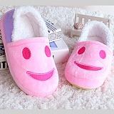 [포레스트레이크]Forest Lake - 스마일여성털방한화 - pink 슬리퍼 털실내화 사무실 슬리퍼
