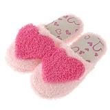 [포레스트레이크]Forest Lake - 하트겨울털실내화-pink 슬리퍼 털실내화 사무실 슬리퍼
