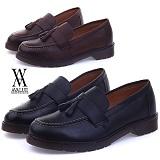 [에이벨류]421-pro 남성 태슬 로퍼 슈즈-4cm (블랙.브라운) 남자 프로 캐주얼 키높이 신발 구두 정장 단화