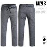 [뉴비스] NUVIIS - 심플 슬림 기모 트레이닝 팬츠 (SP029LPT)