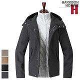 [해리슨] HARRSION 후드 모직 코트 RW1372