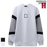 [해리슨] HARRSION 네모 자수 기모 맨투맨 CS1223 크루넥 스��셔츠