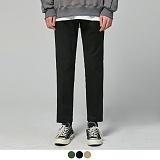 [어커버]ACOVER - [기모] Slim Straight Cotton Pants 슬림 슬랙스 팬츠 면바지