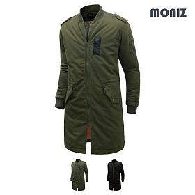 [모니즈]MONIZ 빈티지 롱패딩 항공 점퍼 PJP061 롱패딩 야상패딩