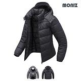 [모니즈]MONIZ 소매 분리형 웰론 패딩 점퍼 PJP025