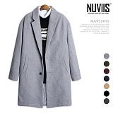[뉴비스] NUVIIS - 오버핏 싱글 코트 (SP034CT)