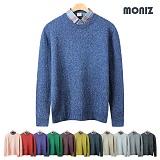 [모니즈]MONIZ 보카시 라운드 니트 KNR012